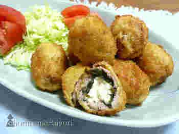絹ごし豆腐・豚ひき肉・海苔を使っているのに、牡蠣みたいな味わいと食感を楽しめる不思議な揚げ物レシピ。お財布に優しいのに、贅沢な気分を味わえます。