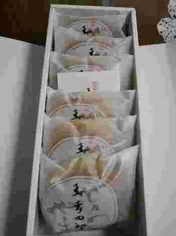 カステラ職人、森 幸四郎が作り出した大丸東京店限定の「どら焼き」。なんといっても1つから買えるので、目上の方などに小分けで買えるのが嬉しいですね。