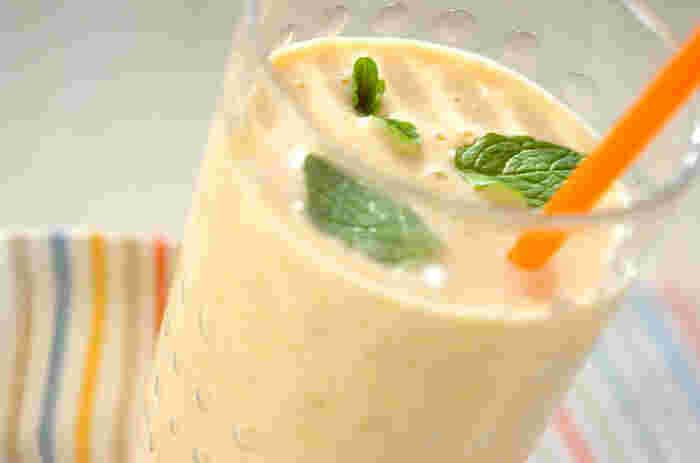 果実感たっぷり&手作りの優しさ溢れるミックスジュースです♪ぜひ、お好きなフルーツで作ってみてくださいね!