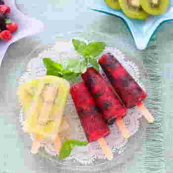 ひんやり美味しい夏がやって来た♪手作り「アイスクリーム・シャーベット」のレシピ集