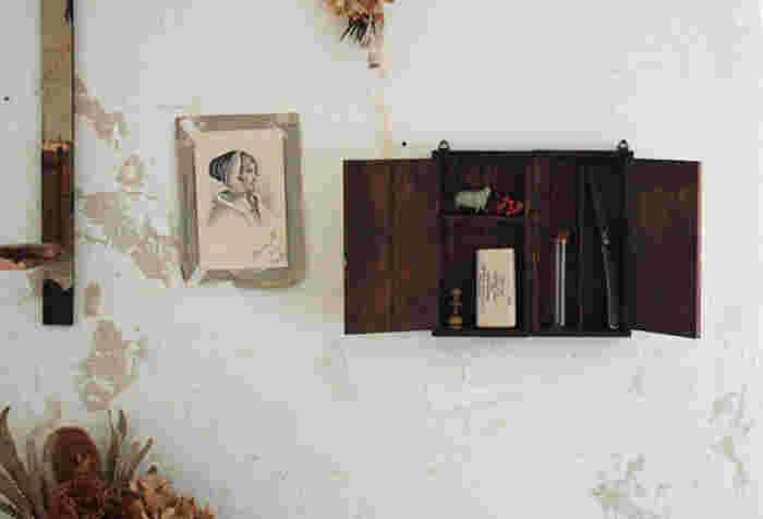 お気に入りをディスプレイ♪おしゃれな「壁面収納」100均DIYアイデア集