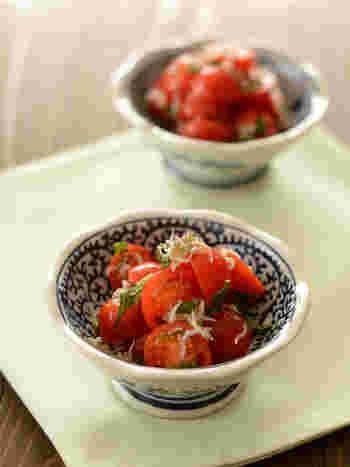 大葉入りなので爽やかな味わいが魅力。生姜でさっぱり、お弁当の箸休めにもピッタリの一品です。