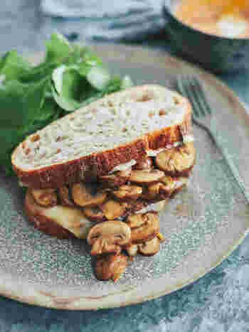 【明日なにつくる?】サンドイッチとスープでおうちピクニックを楽しもう♪