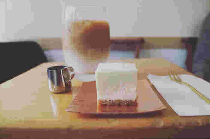 しっとりさわやかな甘みのチーズケーキは、福岡の女性に大人気です。お店の雰囲気も良く、おしゃれな雰囲気の方への手土産におすすめです。