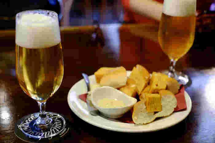 川越はクラフトビールがおいしいことでも知られています。店内では、そのクラフトビール「COEDO」を生でいただくことができるんですよ。生のクラフトビールがいただけるお店は市内でも少ないので、ぜひ味わってみてはいかがでしょうか?