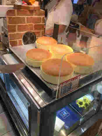 大阪駅周辺には阪急梅田コンコース店もありますが、「焼きたてチーズケーキ」が購入できるのは、こちらの大丸梅田店のみです。