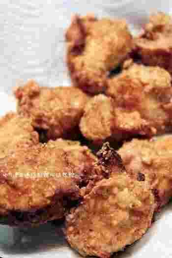 鶏むね肉を使っていますが、ジューシーでとってもおいしい絶品醤油麹レシピ。花椒や五香粉を使うのもいいそうです。