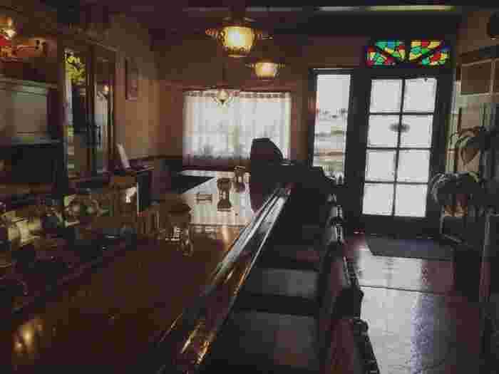 ノスタルジックな雰囲気が漂う店内は、時間がゆったり流れているような居心地の良さで、落ち着いた時間を過ごせます。