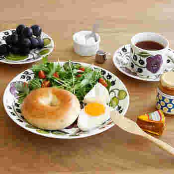 ボリューム満点の朝ごはんも、この1皿で◎