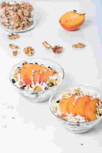 甘くて美味しい秋の味覚◎「柿」を使ったアレンジレシピいろいろ