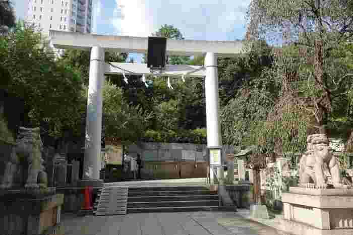 乃木神社は、明治天皇崩御の祭に殉死した乃木将軍御夫妻が祀られている神社です。勝利の神様、そして夫婦和合の神様として崇められています。昭和20年に空襲で社殿を消失しましたが、昭和37年に復興しました。