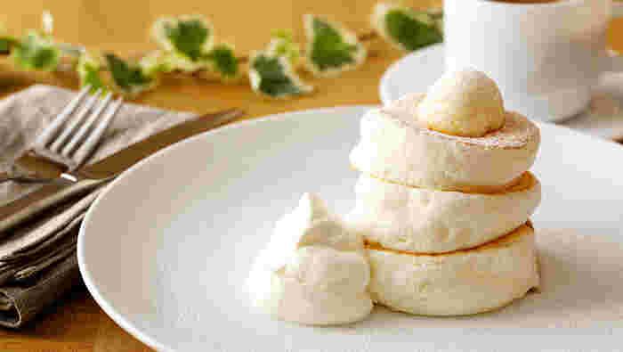 ふわふわ触感のパンケーキが人気の「gram」も出店予定です。