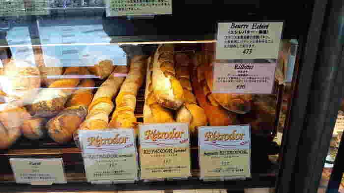 さまざまな種類があるレトロドール。『エシレバター』(発酵バター)も一緒にとついつい買いこんでしまいそう。