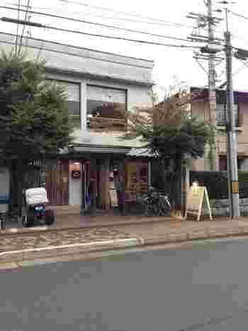 京都市動物園の近くにあるナチュラルで爽やかな雰囲気の洋菓子店。
