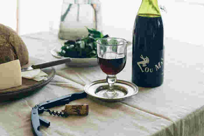 お酒のグラス、おつまみの器にこだわって。「おうち飲み」を素敵に楽しむアイテム