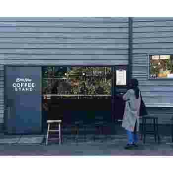 代々木にあるLittle Nap COFFEE STAND(リトルナップ コーヒースタンド )です。こちらも人気のコーヒースタンドですね。