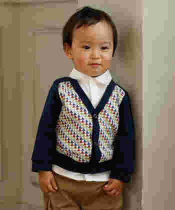 「私が着たい子供服」というコンセプトを持つ「D.fesense (ディーフェセンス)」はシンプルなデザインがベースになったどこかレトロな雰囲気を感じるお洒落なブランドです。