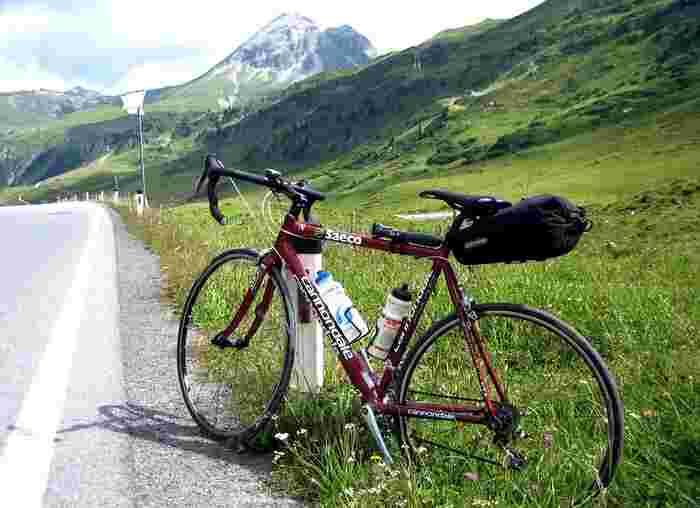 いつもの道も新鮮な発見に満ちていそうな自転車旅行、憧れますね。