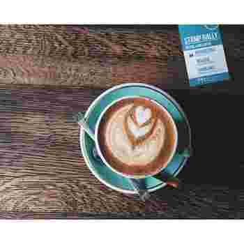 カフェで撮影された写真も多くUPされているnaokoさん。素敵なお店ばかりです♪こちらは神楽坂のモジョコーヒーで。