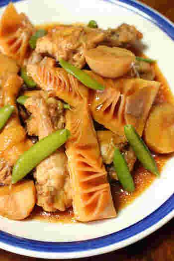 竹の子に鶏の味がしみ込んで…♪冷めても美味しいひと品ですから、お弁当にも。