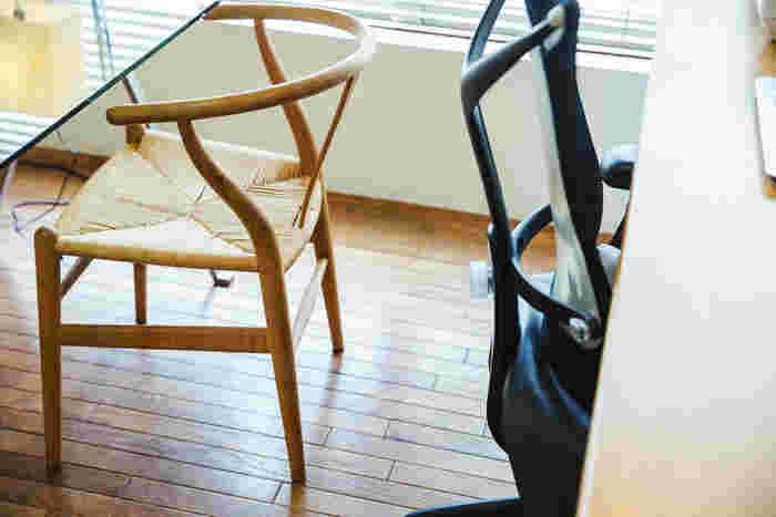 こちらも北欧家具の名作、「カール・ハンセン&サン」のYチェア