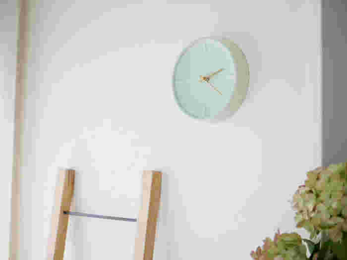 暮らしと共に時を刻む。おしゃれな「インテリア時計」おすすめ&作り方アイデア