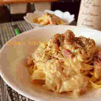 生クリームも入れたいけど、カロリーが気になるという方には絹豆腐で代用するレシピもおすすめです。生クリームのように濃厚さも出すことができて、ヘルシーとなればぜひ食べてみたいですよね。