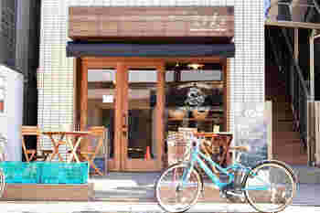代官山駅とJR恵比寿駅のちょうど真ん中あたりにある、「空と麦と」。