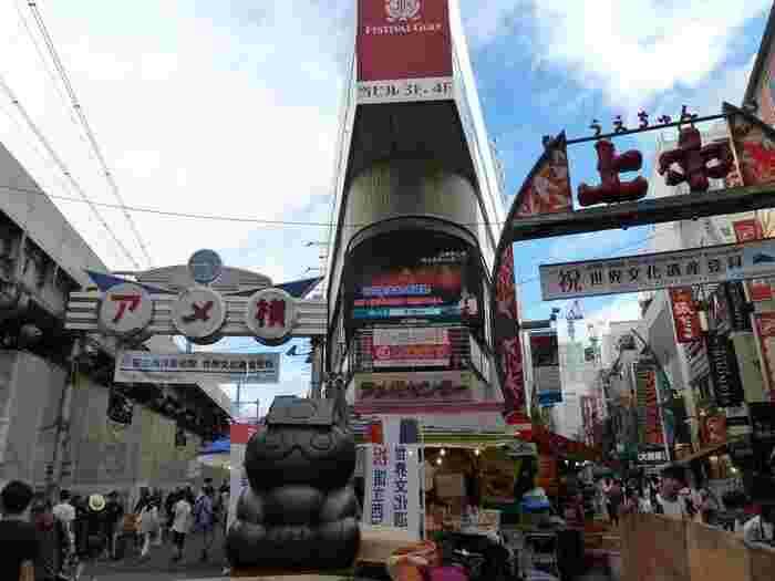 上野・アメ横を1日ぶらり【食べ歩きグルメ・ショッピング・ランチ】を満喫しよう♪