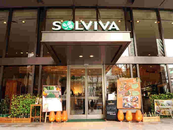 ソルビバ・梅田店は、阪急梅田駅の茶屋町口から徒歩約3分という好立地にあるカフェレストランです。