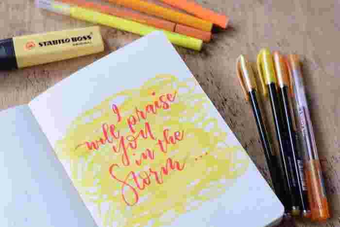 暮らしや仕事の中で思いついたアイデアやメモを書き留めるのに使うペン。考えたアイデアやイメージを思い通りに描ける、手に馴染むお気に入りのペンを選びましょう。