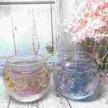 ぷるるん涼しげな透明感♪『ゼリーキャンドル』の作り方&素敵なアレンジアイデア集