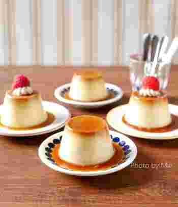 卵なし、牛乳なしで作る本格的なプリンのレシピ。かぼちゃと豆乳の優しい甘みを寒天で閉じ込めたプリンはカロリーも控えめです。色味もプリンそっくりなので普段卵、牛乳アレルギーで食べることができなかった方にもオススメできるプリンです。