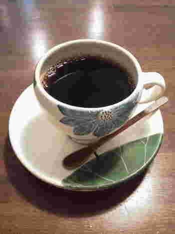 深炒りのコーヒー。焼き菓子にぴったりですね。