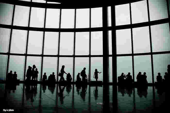 企画展のチケットを持っていれば、展望台・東京シティビューにも入館可能(屋上 スカイデッキを除く)。東京タワーをはじめ東京の話題の名所を一望でき、夜には美しい夜景を見ることができます。