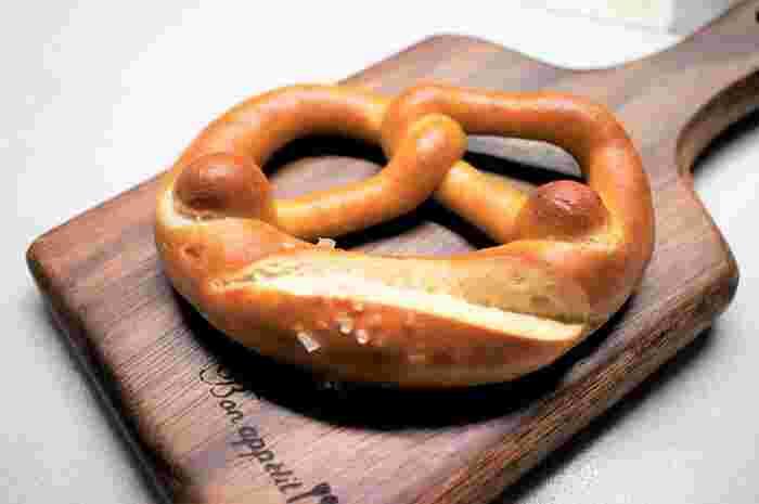 「ザルツブレッツェル」やハム・チーズなどと相性抜群の「ライプレーン」の他にも、「ベルリーナ」などドイツのデザートパンなど珍しいラインナップなのが実に魅力的!一度は訪れたいおすすめのお店です。