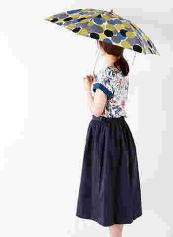 marble(マーブル)の傘だってこんなにキュート。