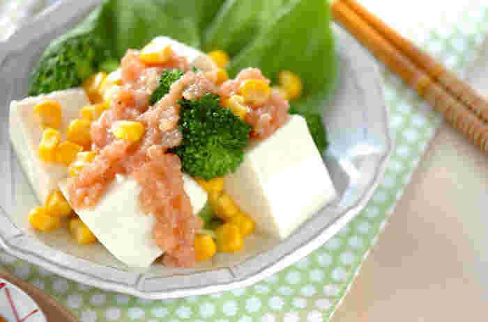 ポッテリとしているので食材に絡まりやすく、豆腐のような淡白な食材と合わせると、ちょっぴり贅沢な気分にさせてくれます。