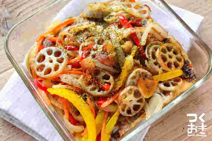 お弁当に嬉しい魚料理。冷やしたままでも、温めても美味しい便利おかずですよ♪材料を変えて、いろいろとアレンジもできそうですね。