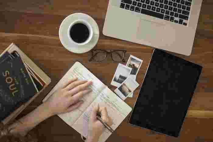 日記を書くことはとてもいいと言われていますよね。では具体的にどんなメリットがあるのでしょうか?日記を書くことによって得られる効果について、まずはご紹介します。