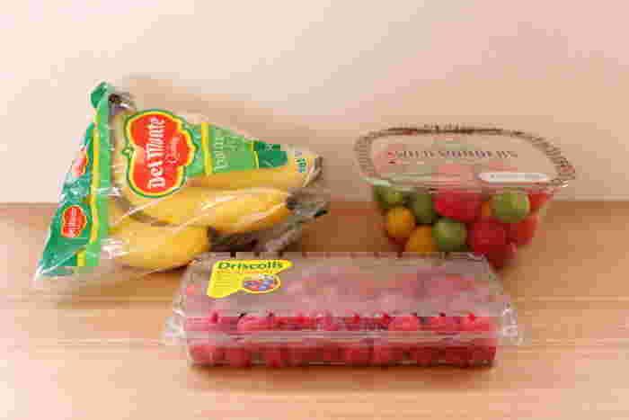 フレッシュも冷凍も種類がたくさんあるフルーツはリピ買い必須食材です。試食も頻繁にされていますので、当たりハズレも少なく、大容量なのでお得感があります。