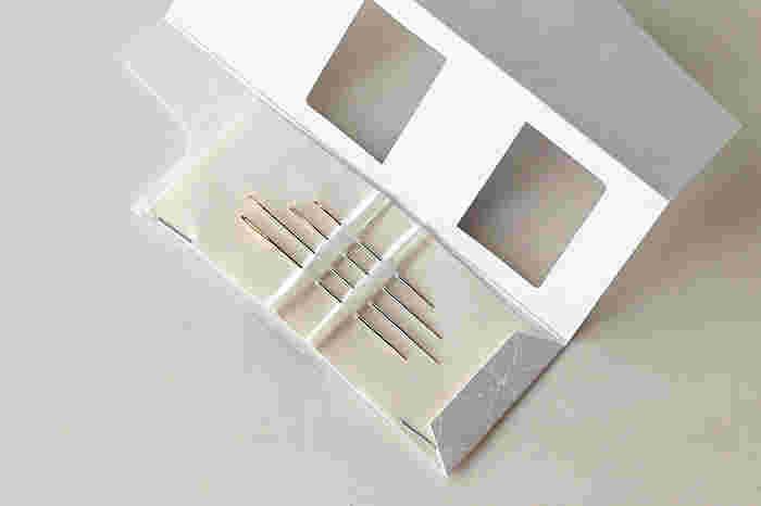 布の厚さや、ステッチの細かさ、また糸の太さに合わせて使えるように、太さと長さが違う4種類の針がセットになっているので、初心者さんも安心です。