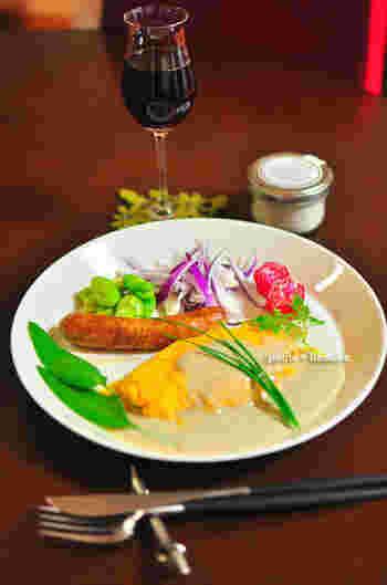 トリュフ塩を使ったオムレツはまるで高級レストランの味とか。ワインにもよく合います。