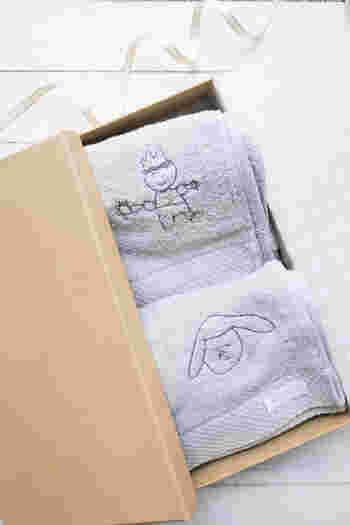 日本が誇る高品質のタオルとして有名な今治タオル。上質な肌触りは使うのがもったいなくなるほどですよね。  こちらのタオルは34cm×83cmのフェイスタオルサイズです。右下部分に子供の絵を刺繍してもらえます。