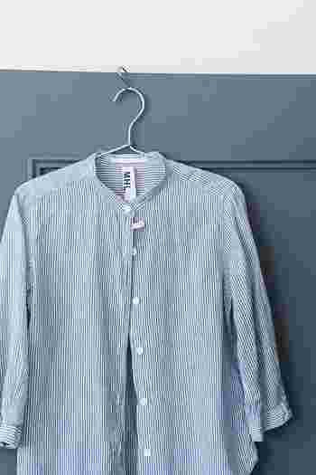 リメイクすることで洋服の雰囲気ががらりと変わり、まるで新しいシャツを買ったみたいに心が弾みます。大切に着ること+あたらしい楽しさも感じられるエコの方法です。