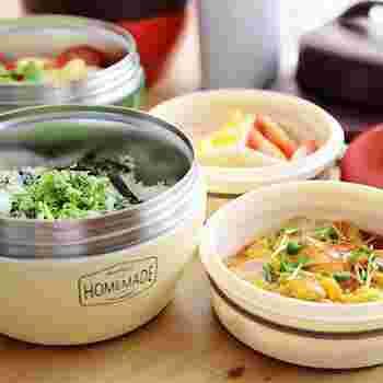 あったかご飯や丼、スープでお弁当改革!おすすめ「ランチジャー」&活用レシピ