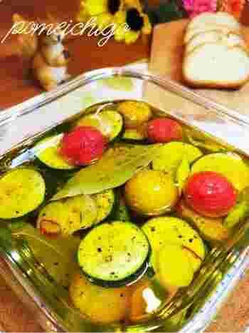 野菜も、基本的になんでも合うと言っても過言ではありません。柚子胡椒で和風のアレンジも素敵です。