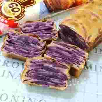 こちらも果物ではありませんが、スイーツにもよく使われるあま~い紫芋。ほくほく&もっちりでついつい食べ過ぎてしまいそう♪