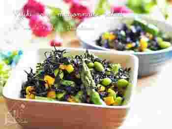 3ステップで簡単にできるすり胡麻とマヨネーズの風味が美味しい常備菜。女性に嬉しいビタミンや鉄分がたっぷりです。