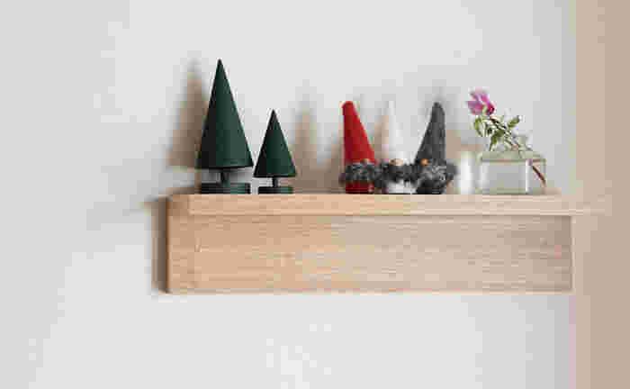 同じラッセントレー製のスウェーデンツリーなどと一緒に合わせれば、お部屋の隅に小さな北欧の森ができあがります。話し声が聞こえてきそうですね♪